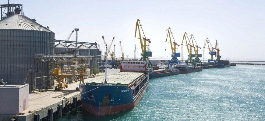 Через порт Актау за 1 квартал отправлено более 249 тыс. тонн казахстанского зерна