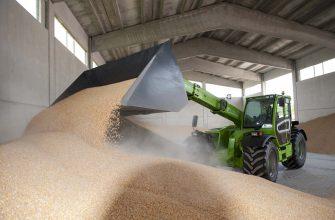 В российских закромах зерновых на 16% больше, чем на 1 апреля 2017г.