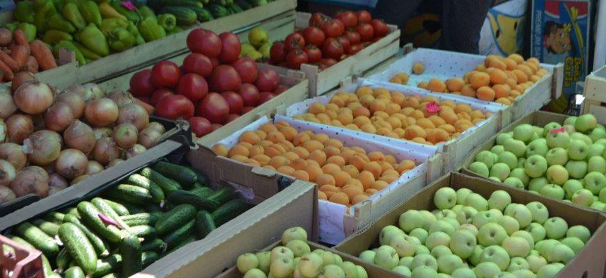 В южной столице Казахстана подорожали огурцы и помидоры, картофель снизился в цене