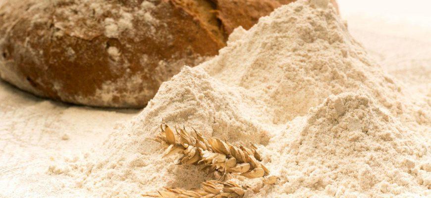 Сводная таблица цен на зерновые культуры и муку в тенге за тонну по Казахстану на 16.02.2018 года, в т.ч. НДС 12%