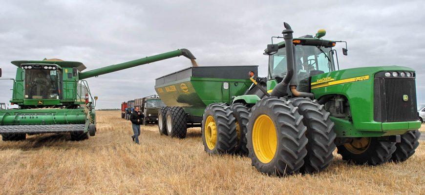 В Тамбовской области намолотили 1,28 млн тонн зерна