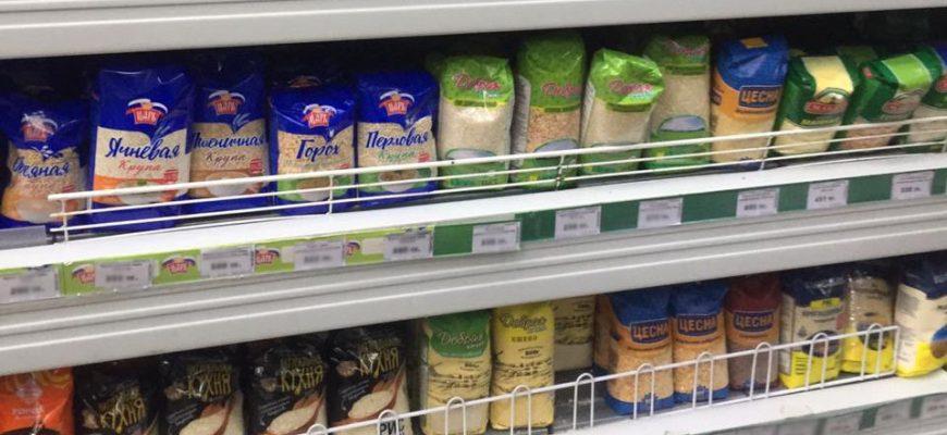 В Петропавловске рис и гречка за неделю подорожали на 2,5%