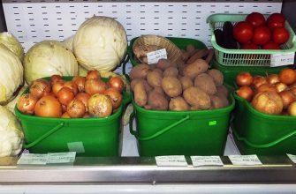 В Петропавловске подорожали овощи и картофель
