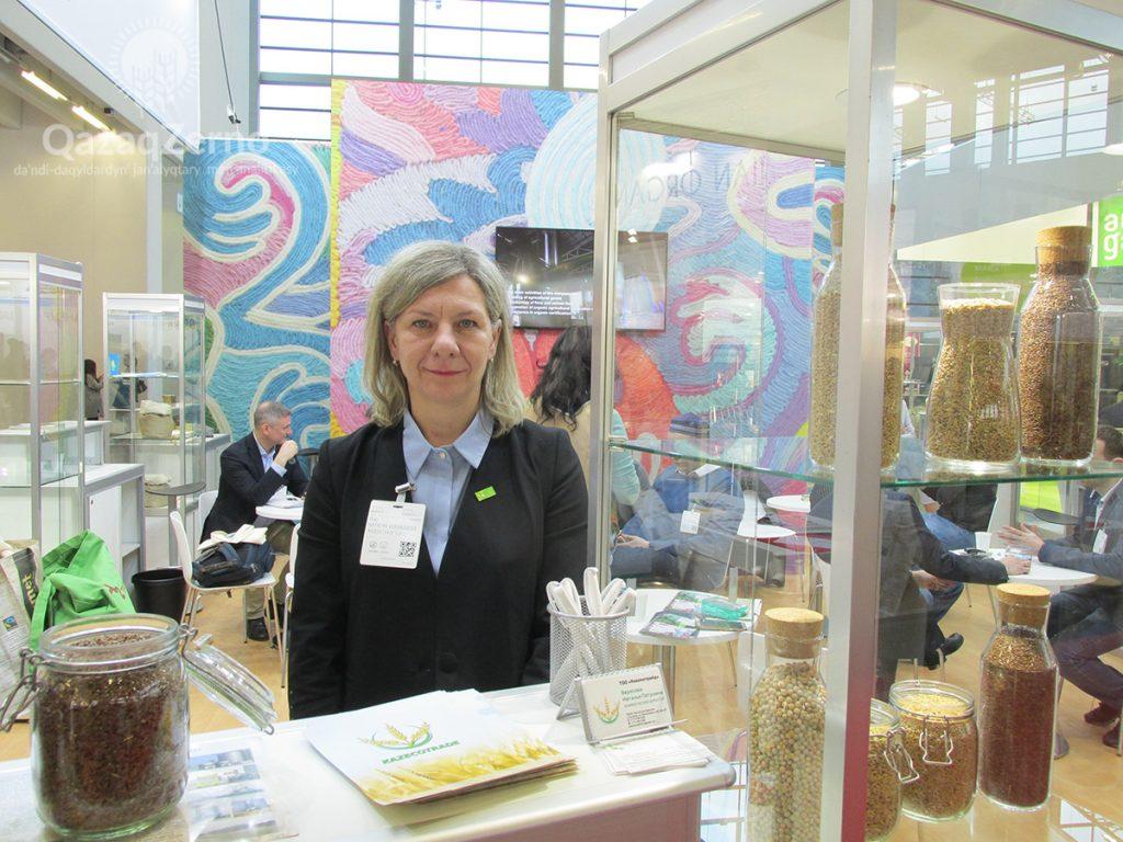 Казахстанскую органику представили на выставке в Германии