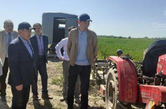 Аграрии Жамбылской области надеются, что их проблемы будут решены