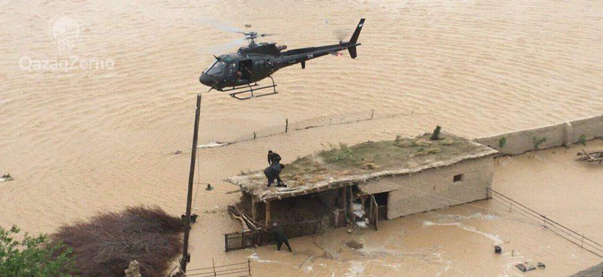 Жители затопленных сел опасаются, что в воде могут содержаться ядовитые химикаты