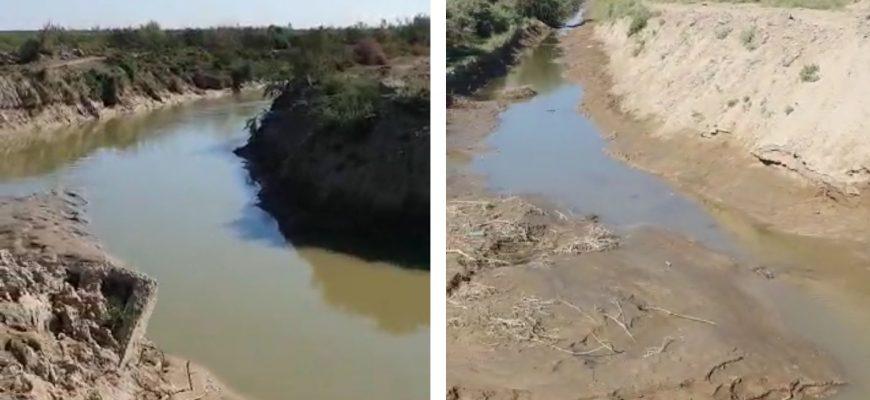 Воды все меньше