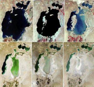 Причины и следствия высыхания Аральского моря