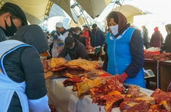 Сельхозпродукты с Востока на ярмарке в столице ушли влет