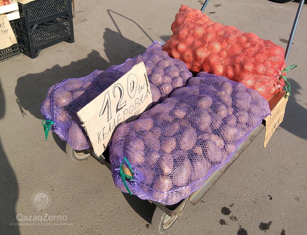 Цена на картофель продолжает расти