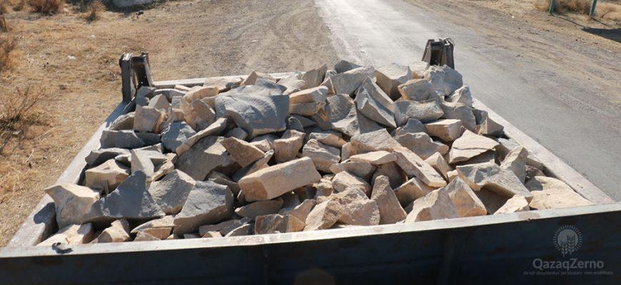 В Жамбылской области местные жители безжалостно расхищают полезные ископаемые