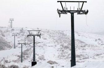 Открытие горнолыжного курорта затягивается на неопределенный срок?