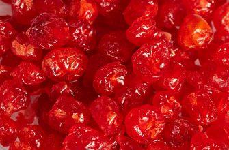 Вяленая вишня – царская ягода для иммунитета