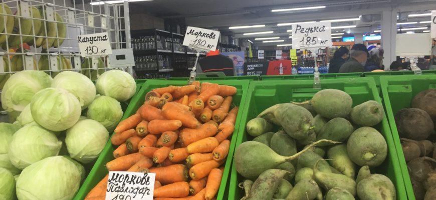 Как в регионе сдерживают рост цен на продовольствие