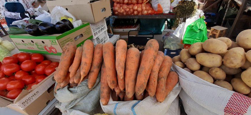 В Кызылорде в нынешние выходные морковь по ценам била все рекорды
