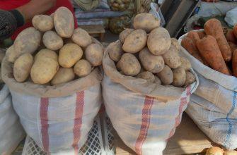 Картофель по 400 тенге за кг