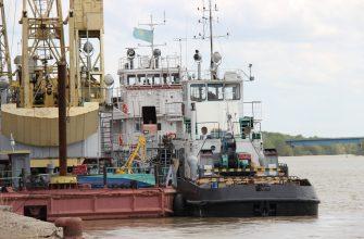 В Павлодарском порту